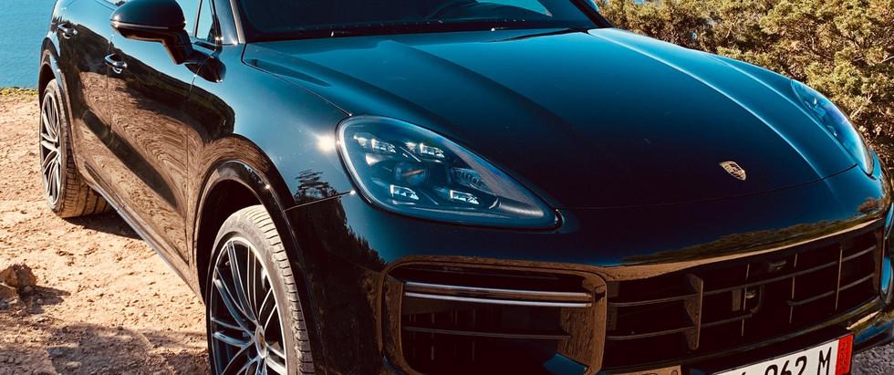 Porsche Cayenne Turbo Coupé