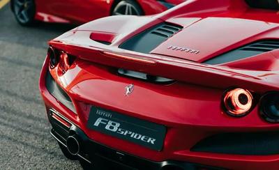 Ferrari F8 Tributo Spider