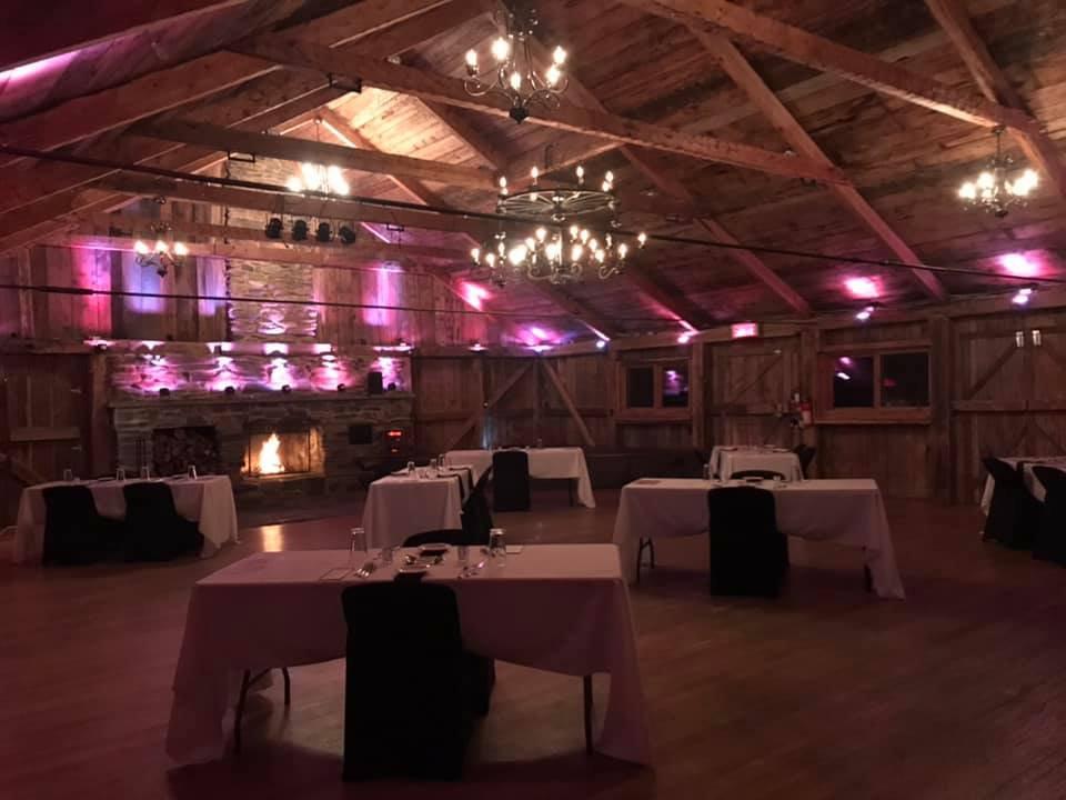 Rustic Wood Building Wedding