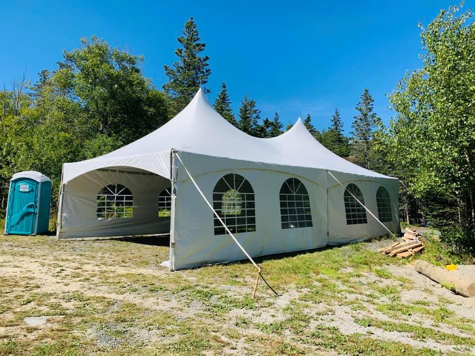 High Peak Tent Rental Yarmouth Nova Scotia
