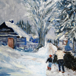Winter Walk SOLD