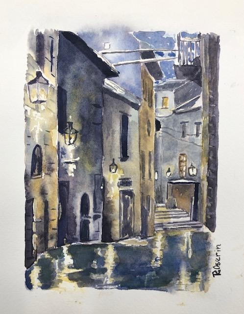 Paris Courtyard