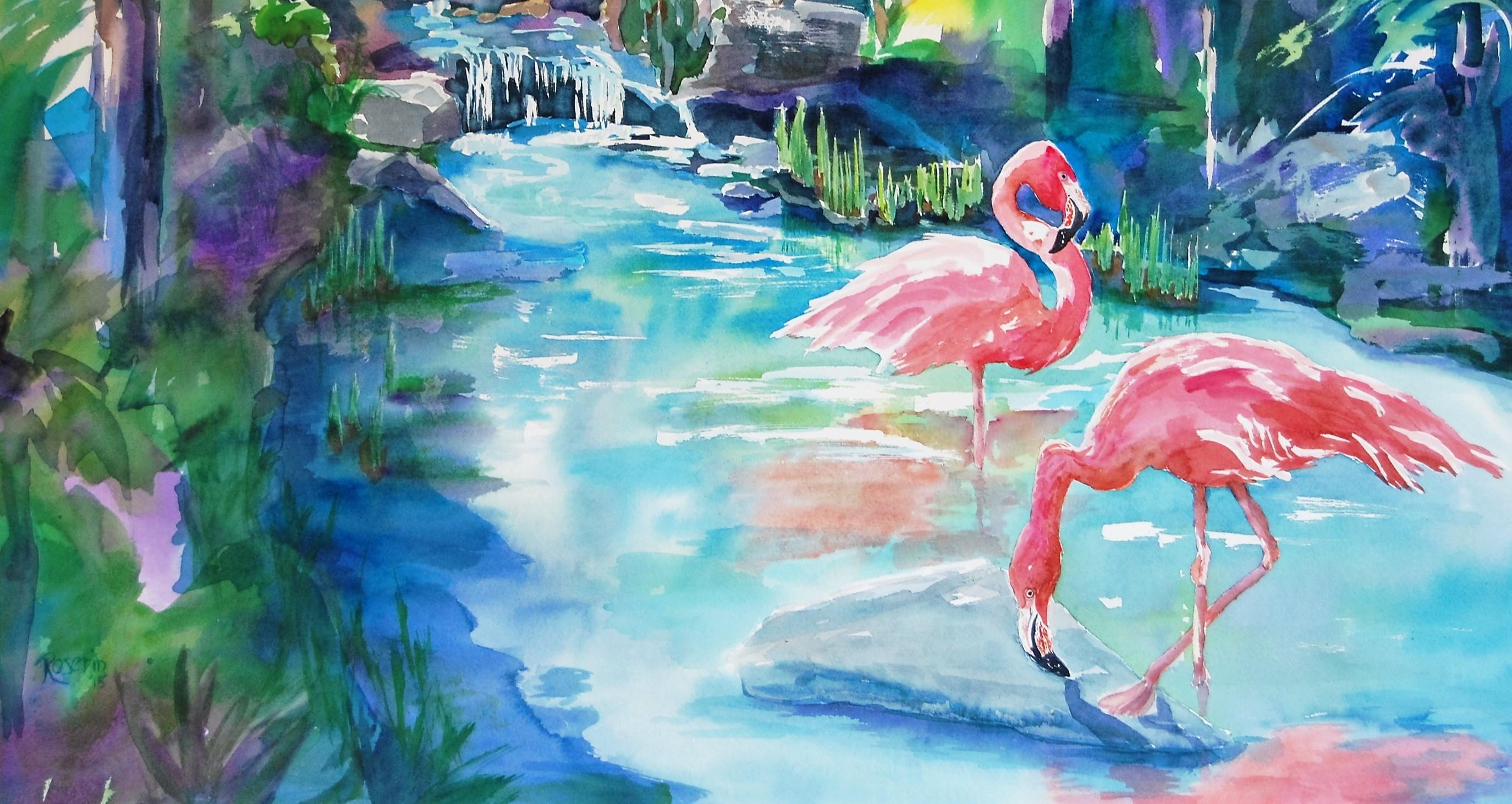 Caribbean Morning-22x30-Watercolor -$350