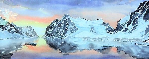 Antarctic Sunrise 32x8.jpg