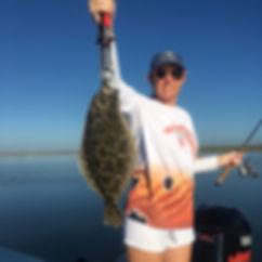 Corpus Christi Texas Flounder