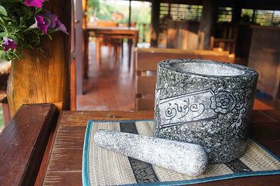 Thai Mortar & Pestle