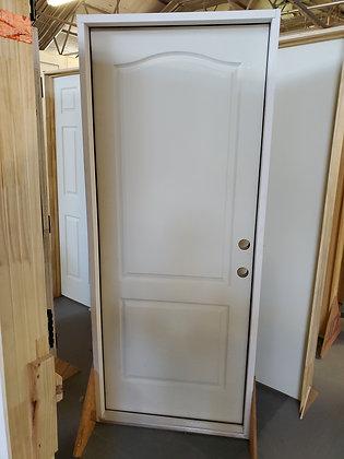 Exterior 2 Panels Camden Textured Single Door