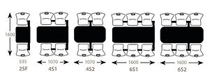 2, 4 & 6 Seater Seating Configurations.j