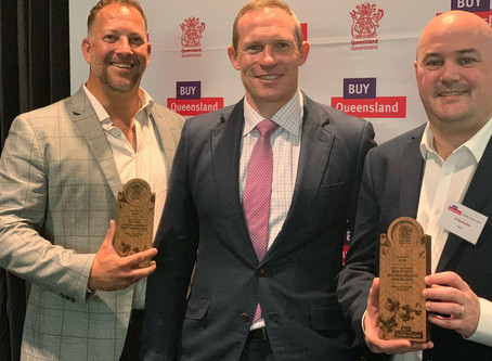 BiTQ Wins Big At The 2019 Buy Queensland Supplier Awards