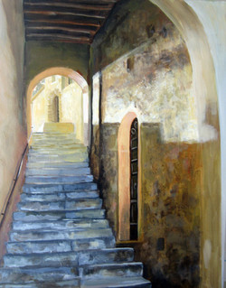 Tuscan Stairway