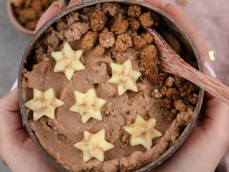 Schoko-Erdnussbutter Keksteig / chocolate & peanut butter cookie dough