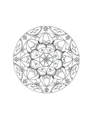 Mandala à colorier - Liens (à télécharger)