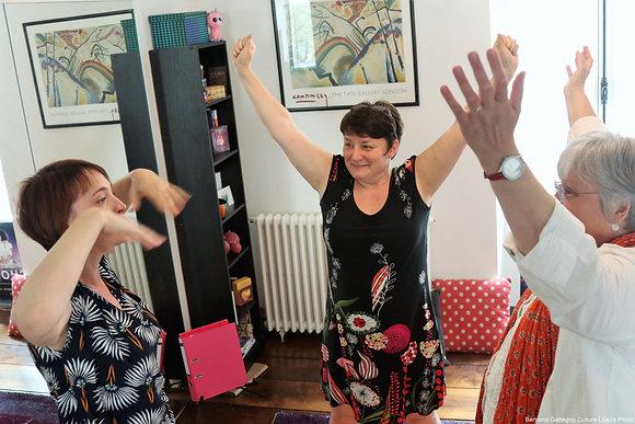 Atelier: Bien-être en chantant - Cartes pour 10 séances