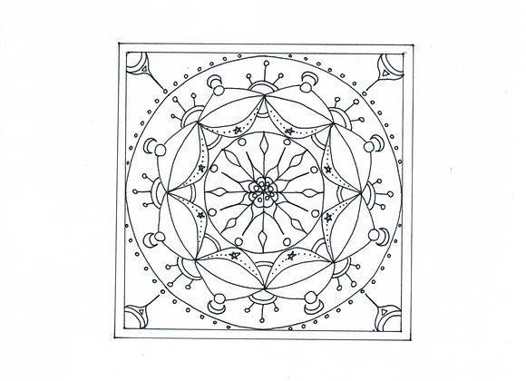 Copie de Mandala à colorier - Carrétoile