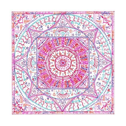 "Carte postale simple - Mandalâme ""Le Temple"""