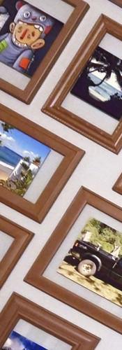 DIY Floating Picture Frames