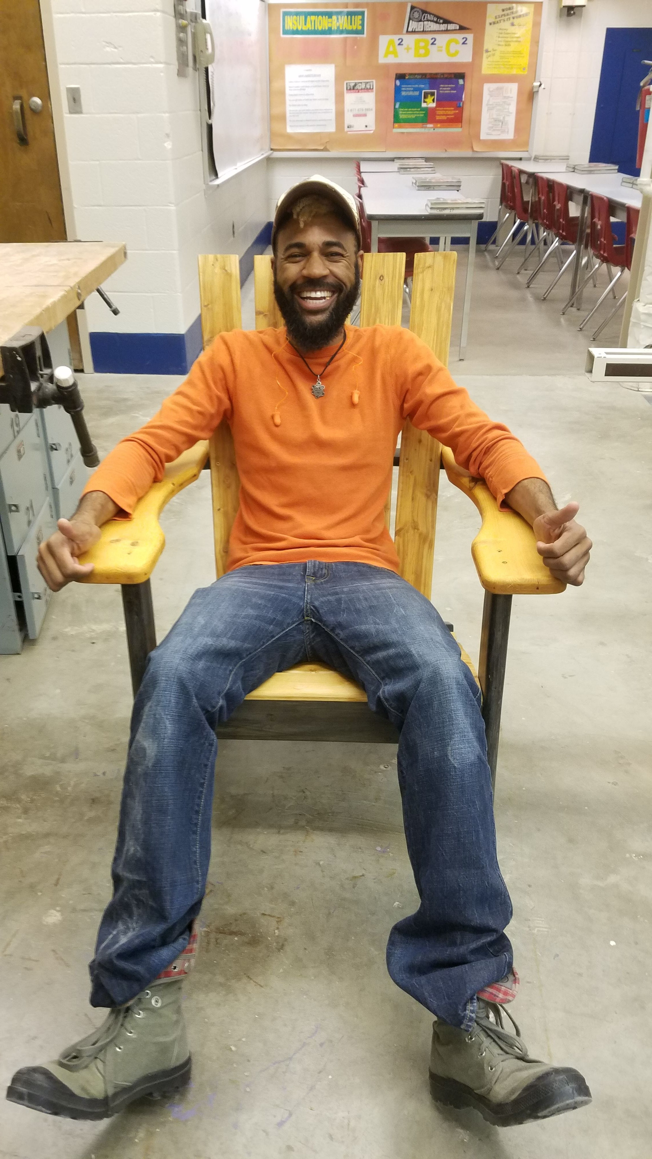black craftsmanship, african- american woodworker, negro woodsman, man glitter, man beard, black boy joy, #internationmanofliesure