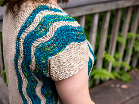 NEW PATTERN: Waves and Sand Top