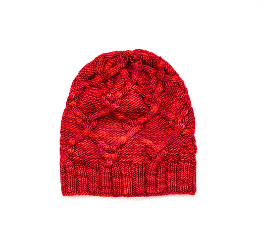 Red Hearty Hat