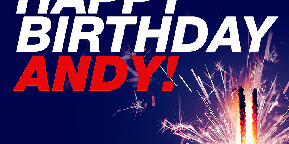 Happy Birthday Andy Fundraiser