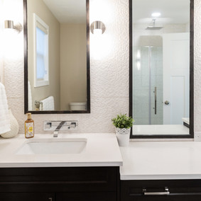 Tall Mirrors Bathroom