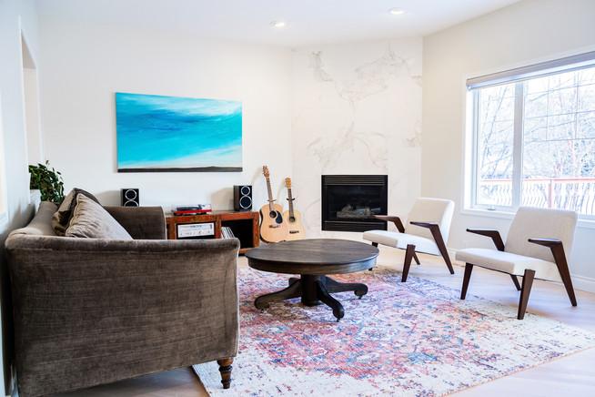 Midcentruy Modern Living Room