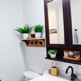 Vanity & Shelf