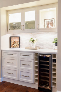 wine fridge & bar