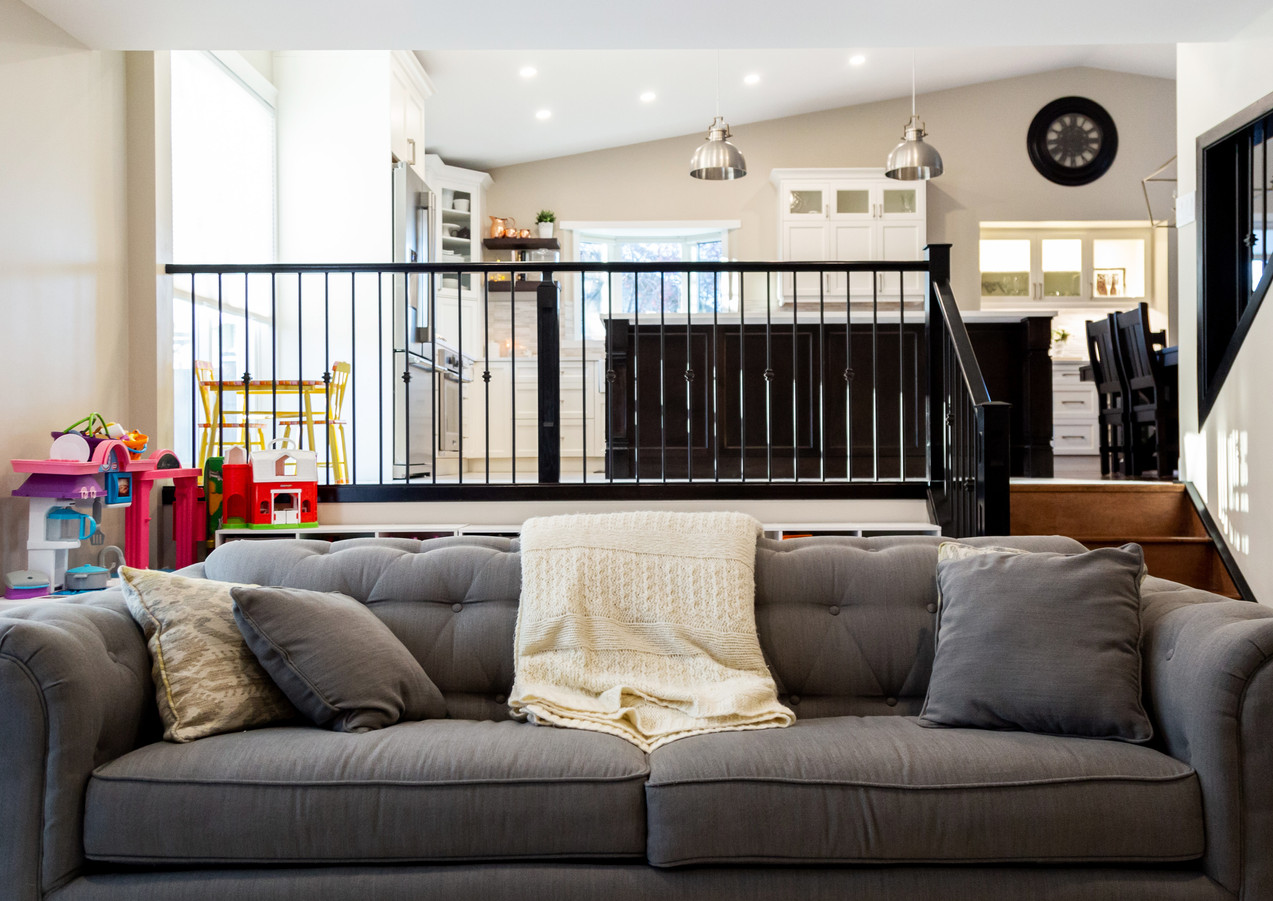 couch & railing