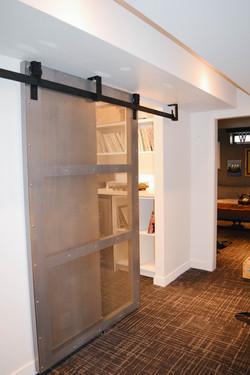 wine room entrance