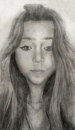 Brianne_W Portrait Drawing