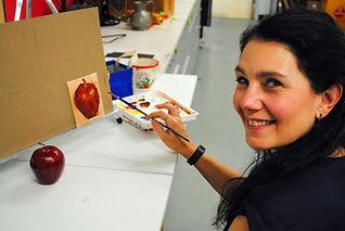 Irene LaPapa Acrylic painting demo 1.jpg