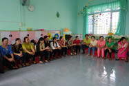 Teachers at Hiếu Nghĩa school