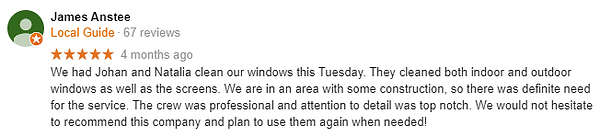Google Review 3 Bear Property Cleaning