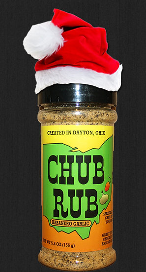 Chub Rub Habanero Garlic Bottle