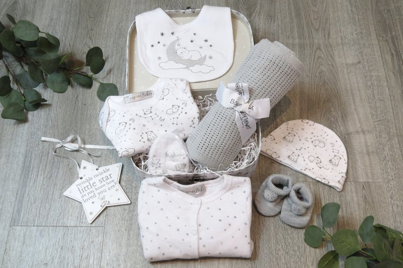 Little star baby gift set