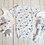 Thumbnail: Baby gift set with teddy, Baby hamper