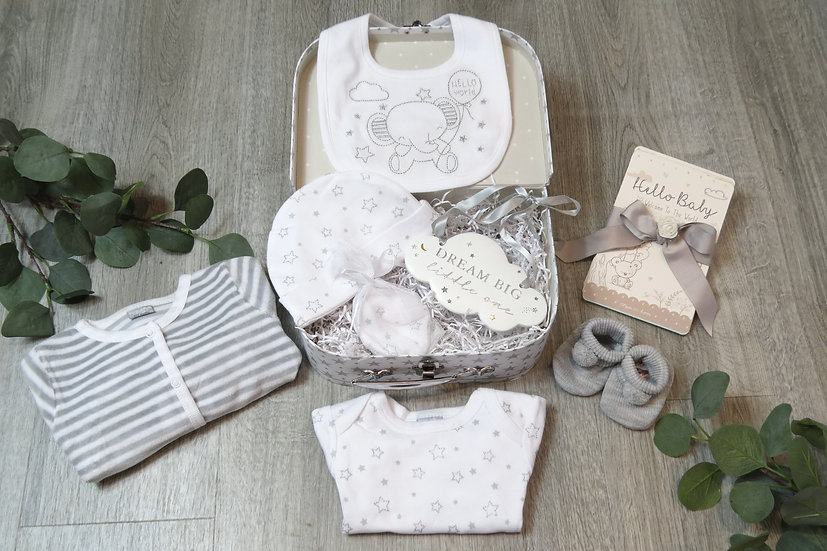 Dream big little one baby gift set, Baby shower, Unisex baby gift set,