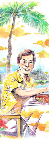 念願のハワイ