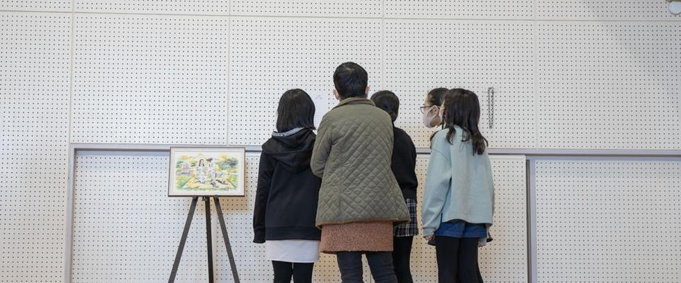 絆画/いのちの授業