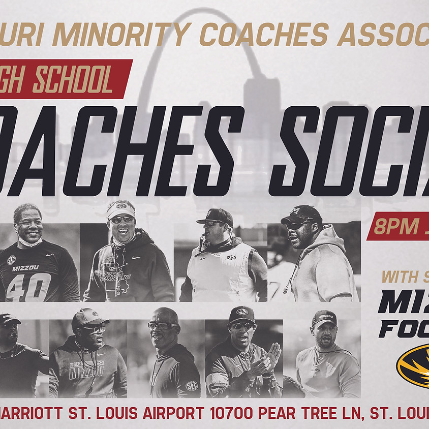 STL Coaches Social: Special Guest Mizzou Football
