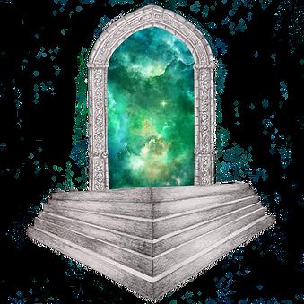 Pavilion gate - The Traveller's Stone
