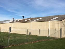 Start of new roof coating