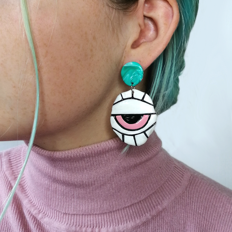 Face Earring Style 3