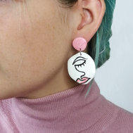 Face Earring Style 4