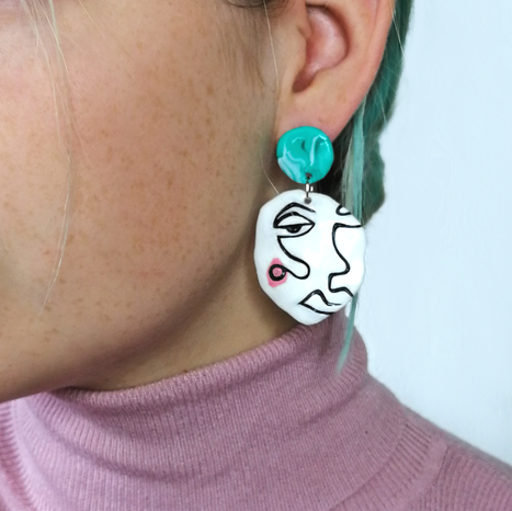 Face Earring Style 5