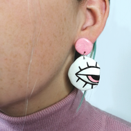 Face Earring Style 1