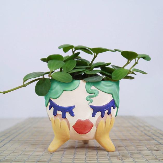 DREAMER Ceramic Flower Pot