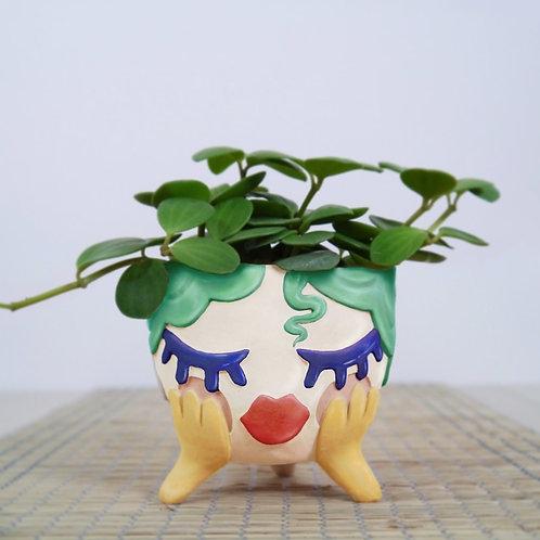 Day Dreamer Ceramic Planter