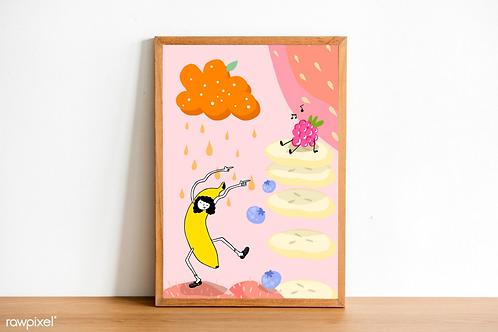 Fruit Salad Print